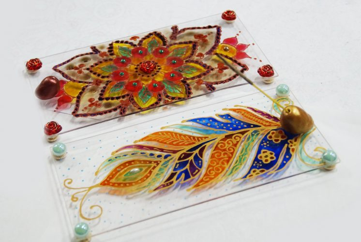 Витражная роспись по стеклу