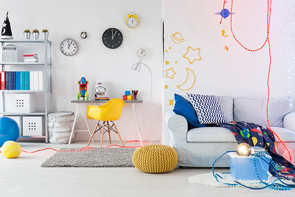 Необычные дизайнерские идеи для детской