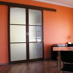 Раздвижные межкомнатные двери (плюсы и минусы)