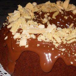 Легкий шоколадный торт Нутелла