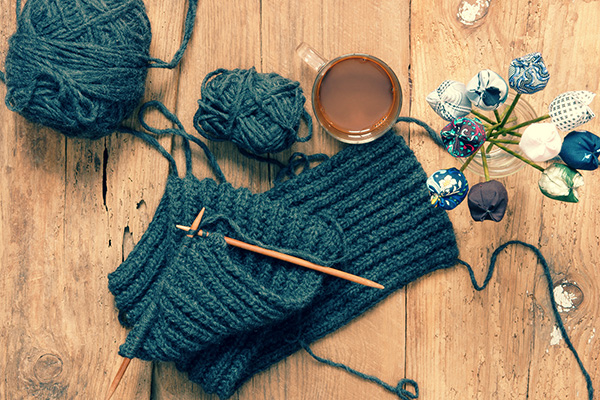 Вязание на спицах – любимое хобби