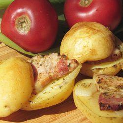 Картофель запечённый в фольге